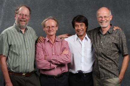 Tom Bruns, Tom White, Steve Lee and John Taylor