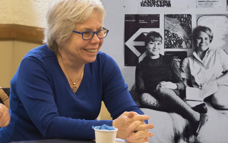 Kathy Hartzell and Julie Palladino