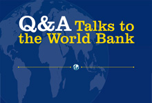 Q&A: The World Bank
