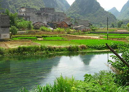 Water Quality & Home Air Pollution in Rural China