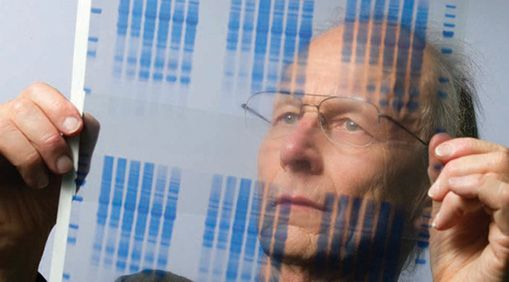 Buchanan in his lab in 2011.