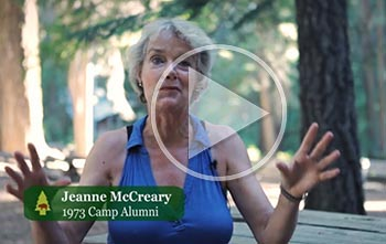 Jeanne McCreary, Camp 1973