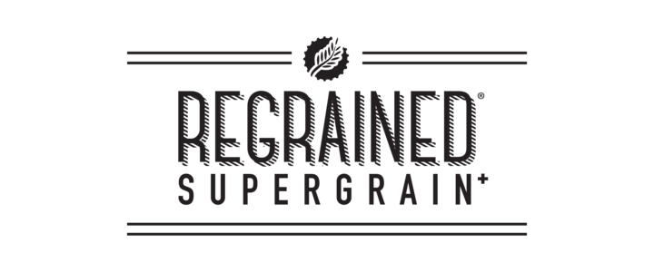 Regrained logo