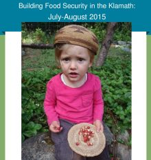 Image of tribal child in hat with berries and link to July/Aug issue