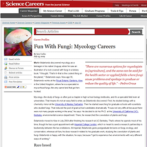 Fun with Fungi: Mycology Careers