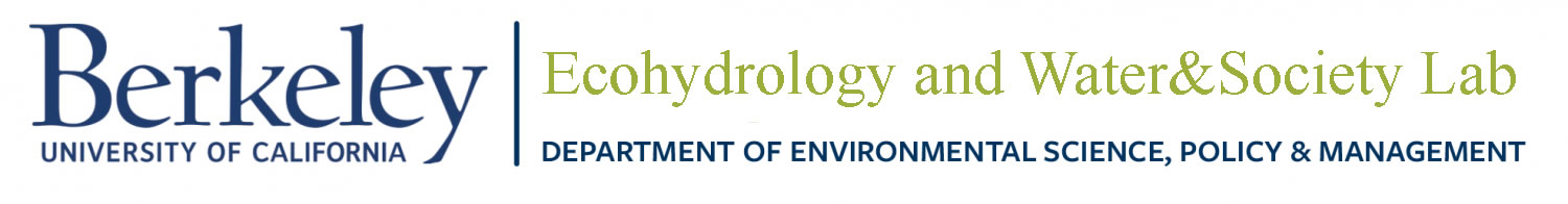 Ecohydrology and Water&Society Lab