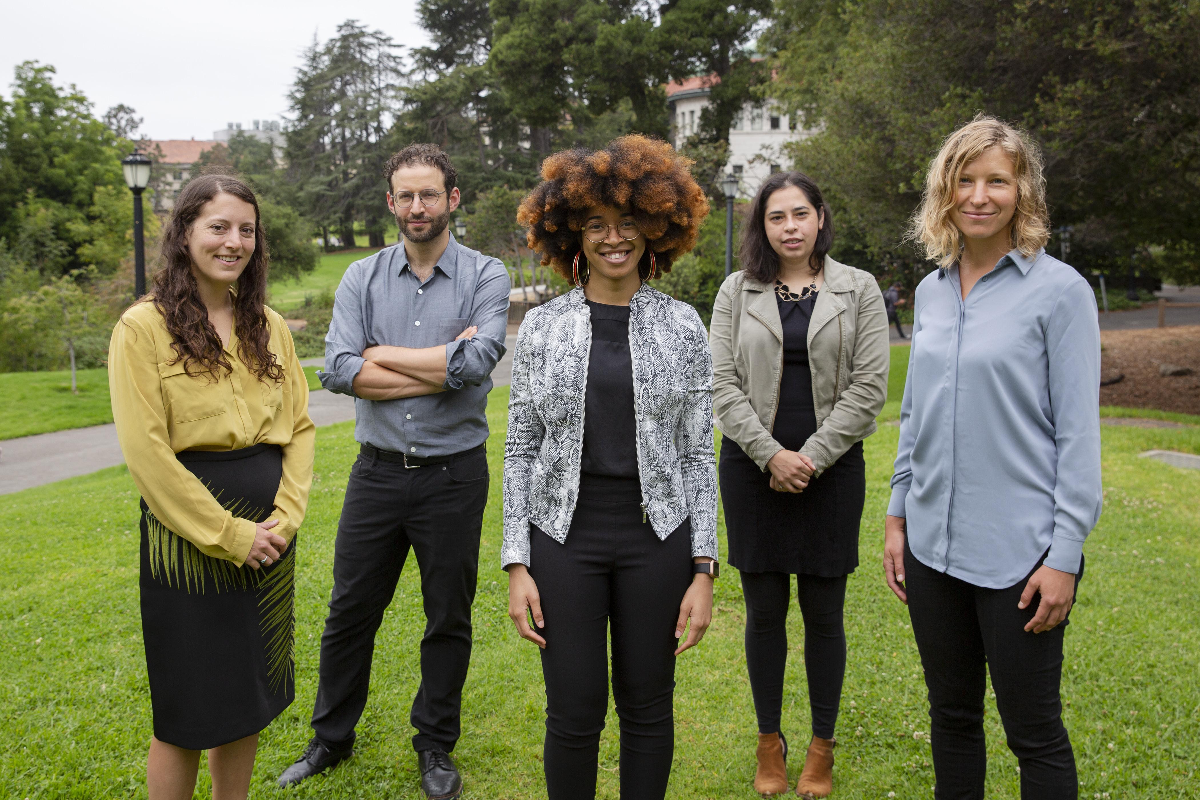 Meg Mills-Novoa, Daniel Aldana Cohen, Maya Carrasquillo, Danielle Zoe Rivera, and Zoé Hamstead.