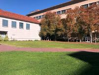 Grass Lawn Outside Genetics & Plant Biology Building