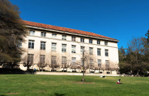 Grass Lawn Outside Mulford Hall