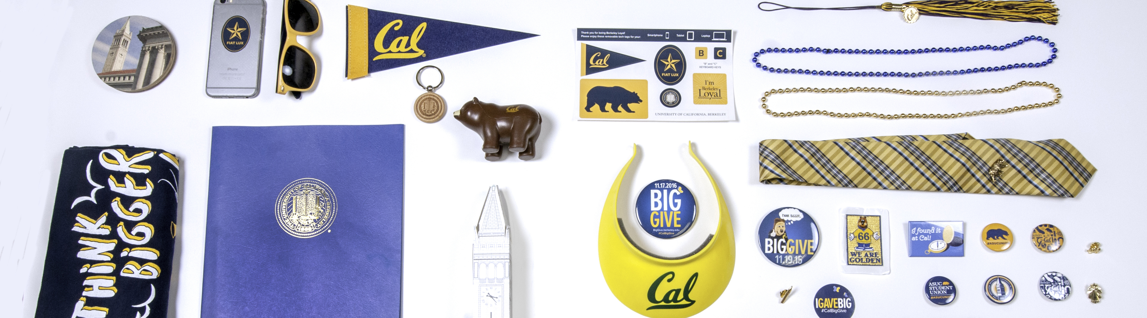 A group of objects from UC Berkeley