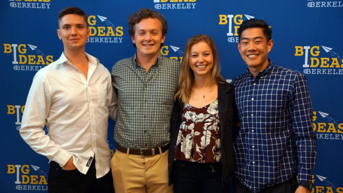 Ryan Kenneally, william Sharpless and their team at the Big ideas event