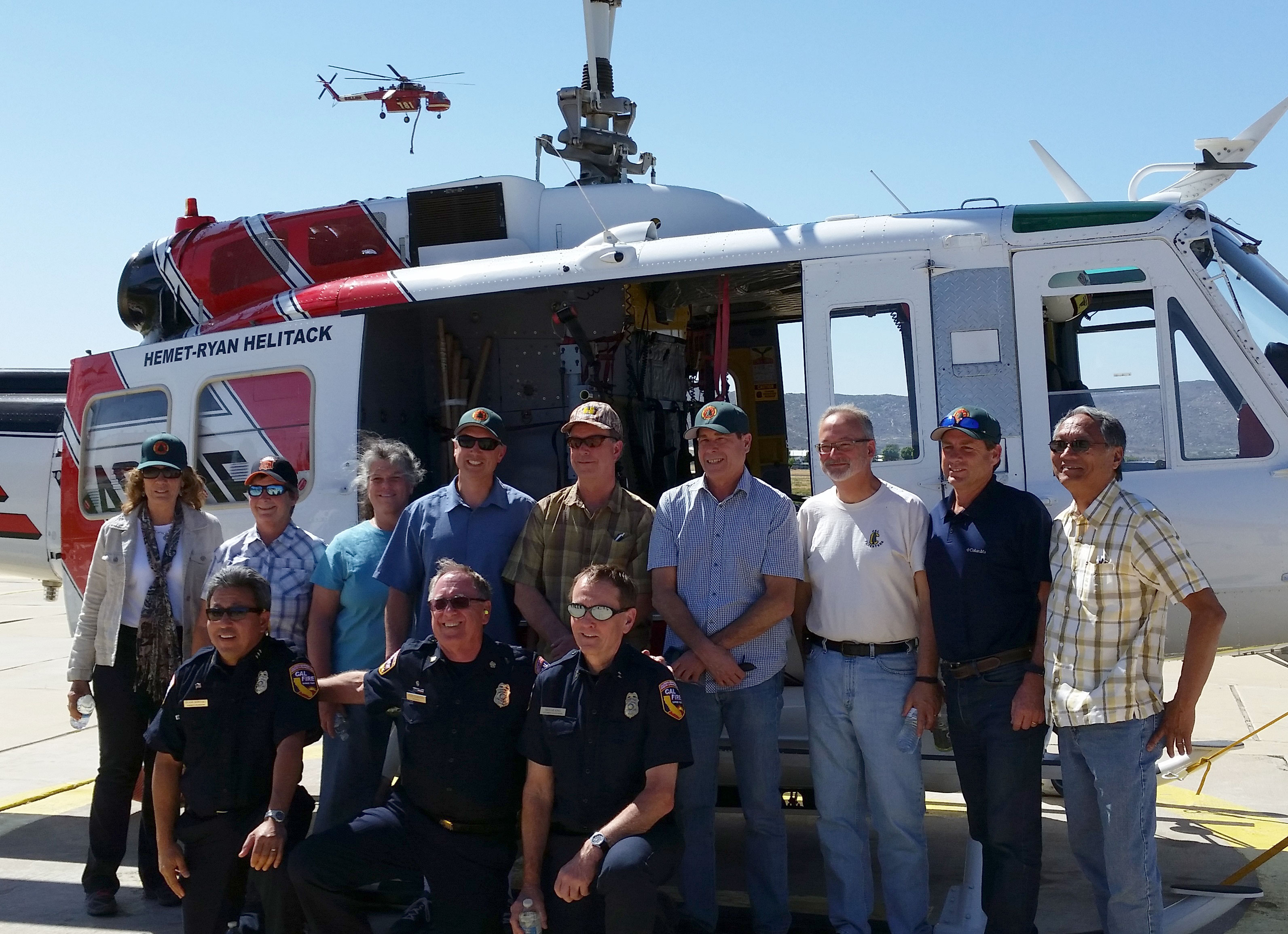 Dean Gilless and members of the California Board of Forestry and Fire Protection