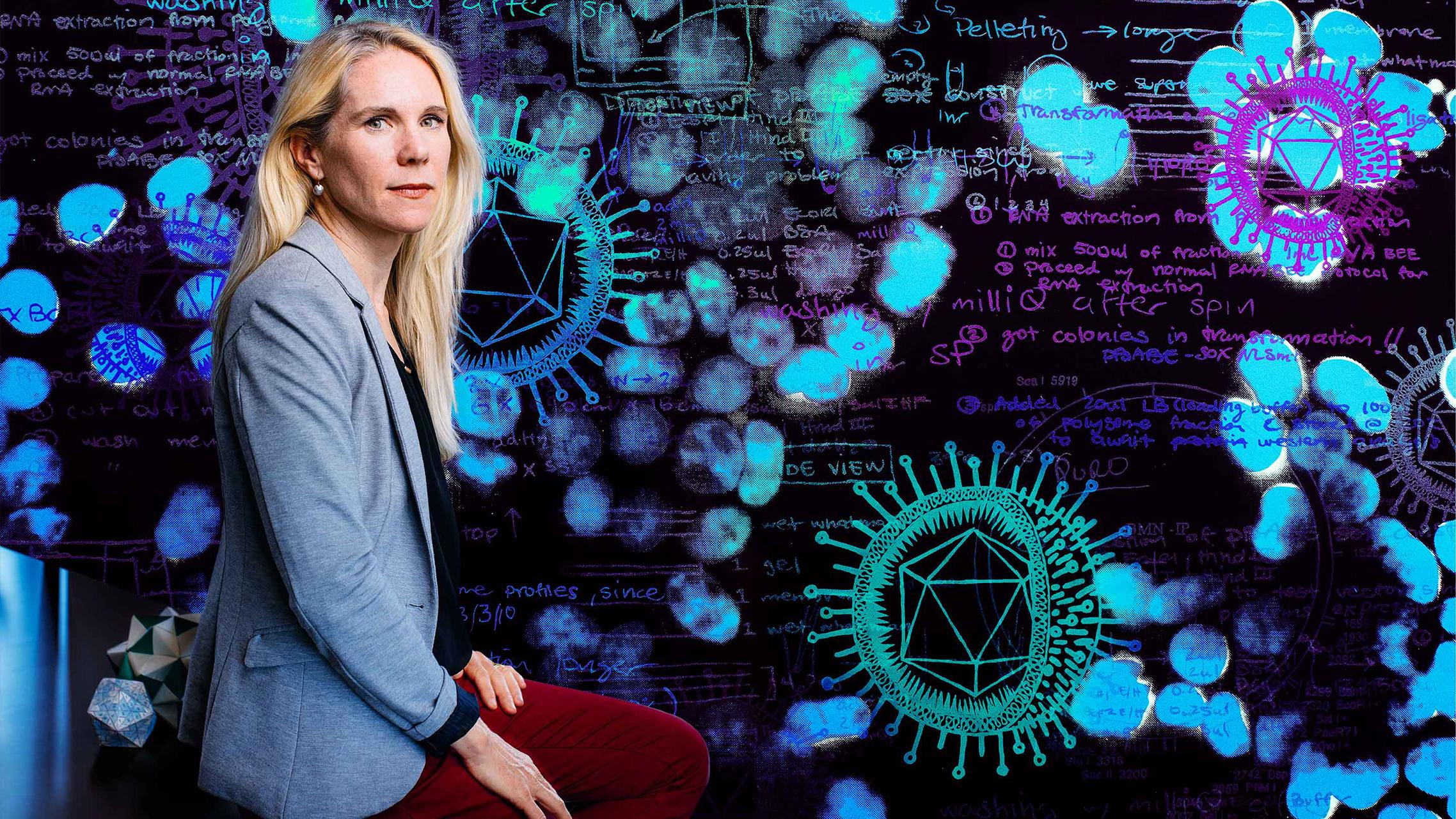 Professor Britt Glaunsinger