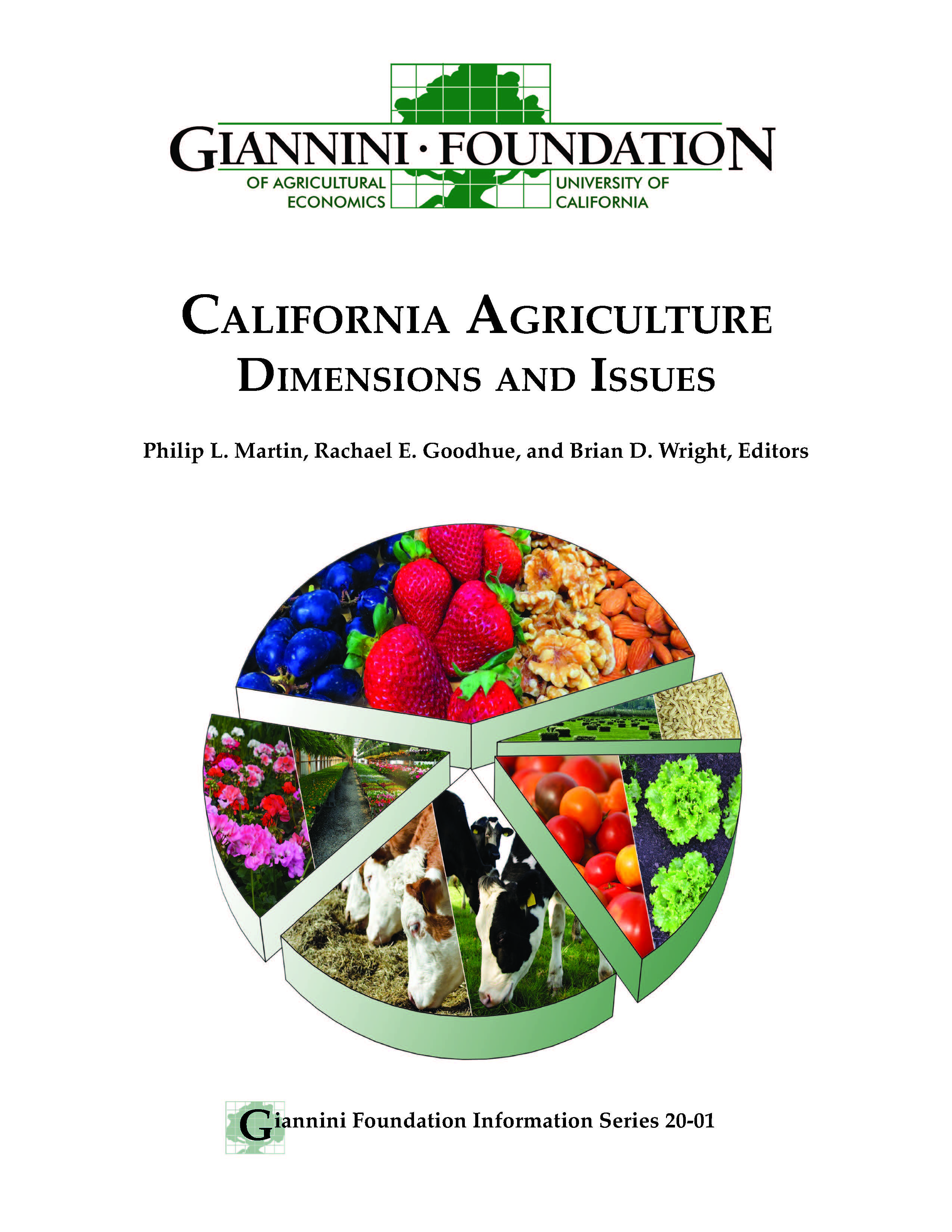 Cover image of California Agriculture: Dimensions and Issues