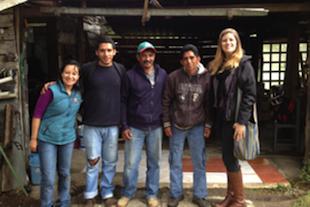 Rebecca in Chiapas, Mexico