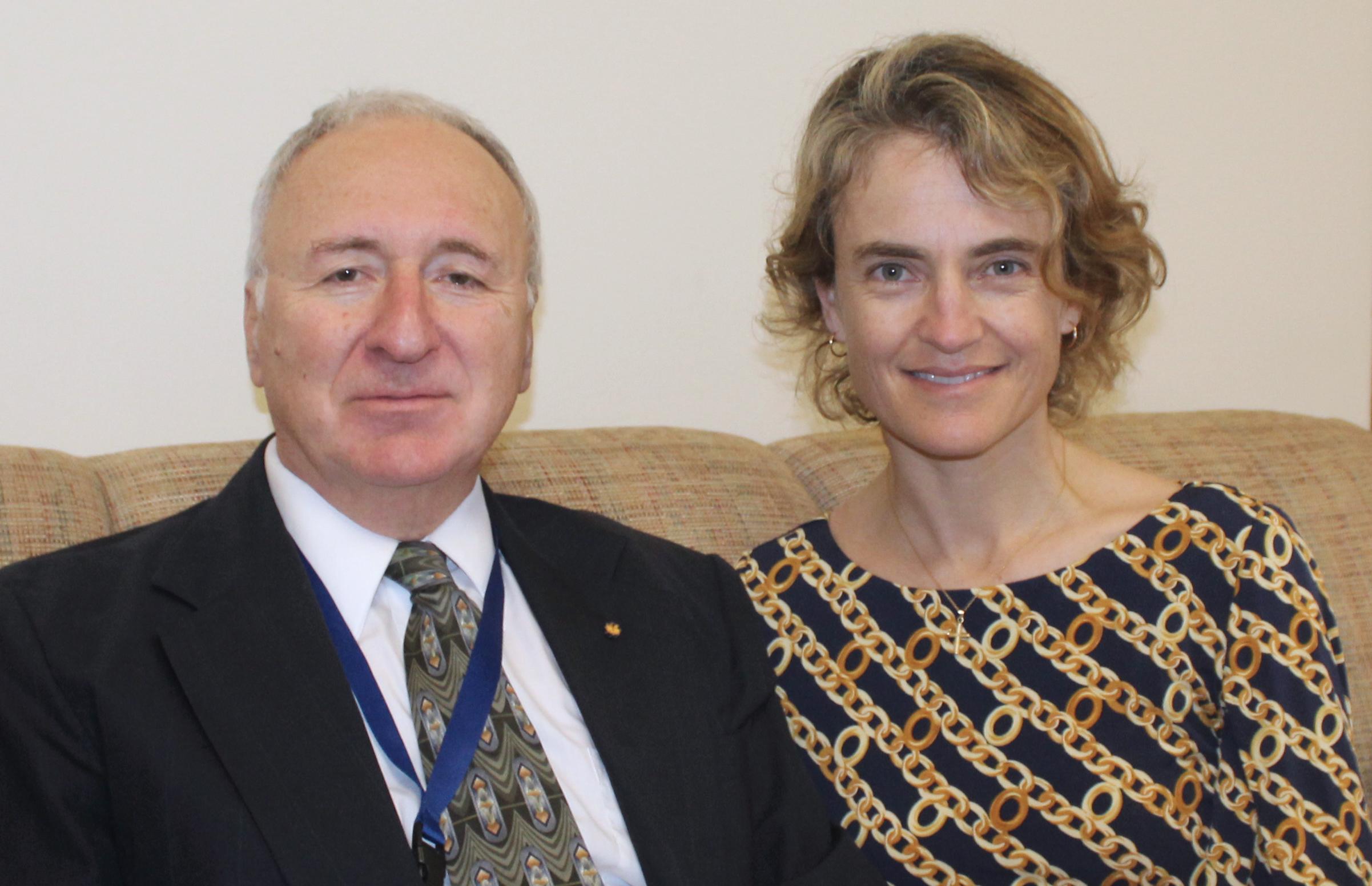 Anastasios Melis and Sofia Villas-Boas