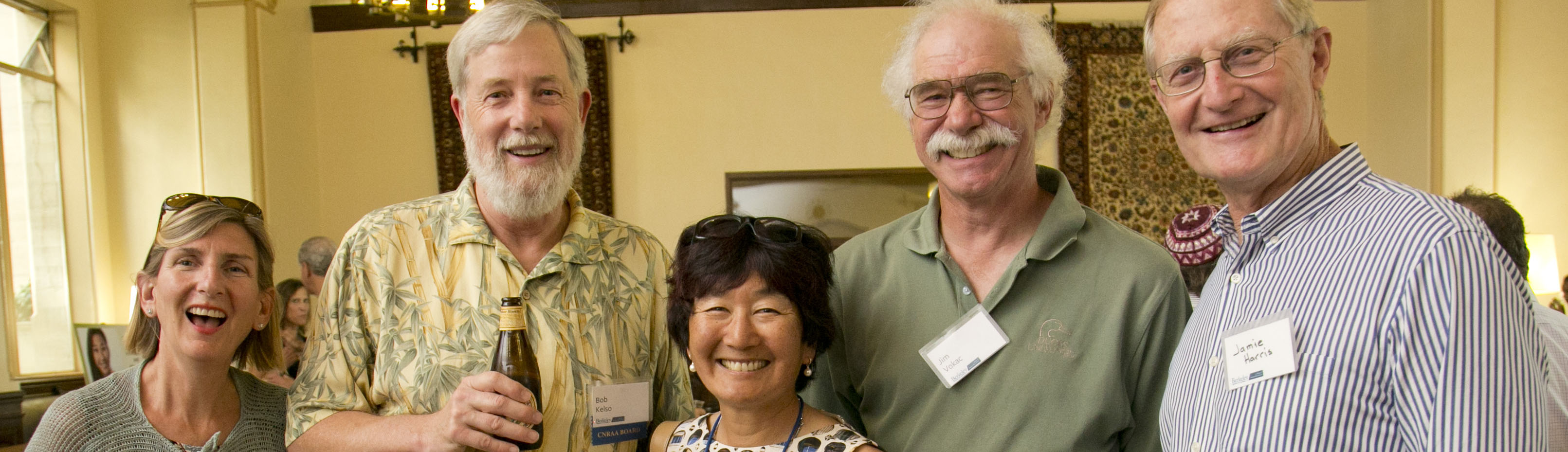 From left: Donna Chan, Bob Kelso, Stacey Baba, Jim Vocak, and a friend.
