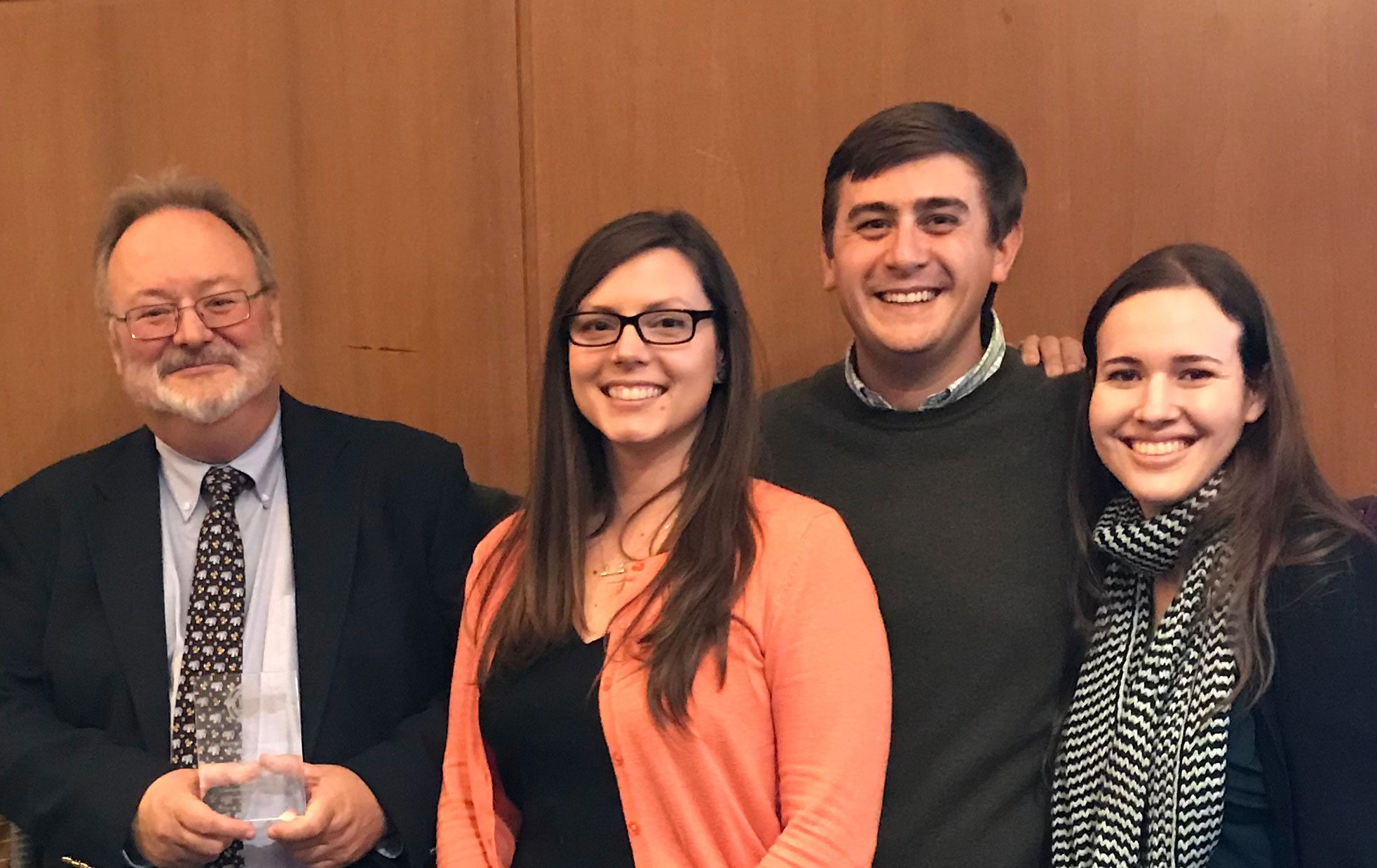 Dean J. Keith Gilless and advisors