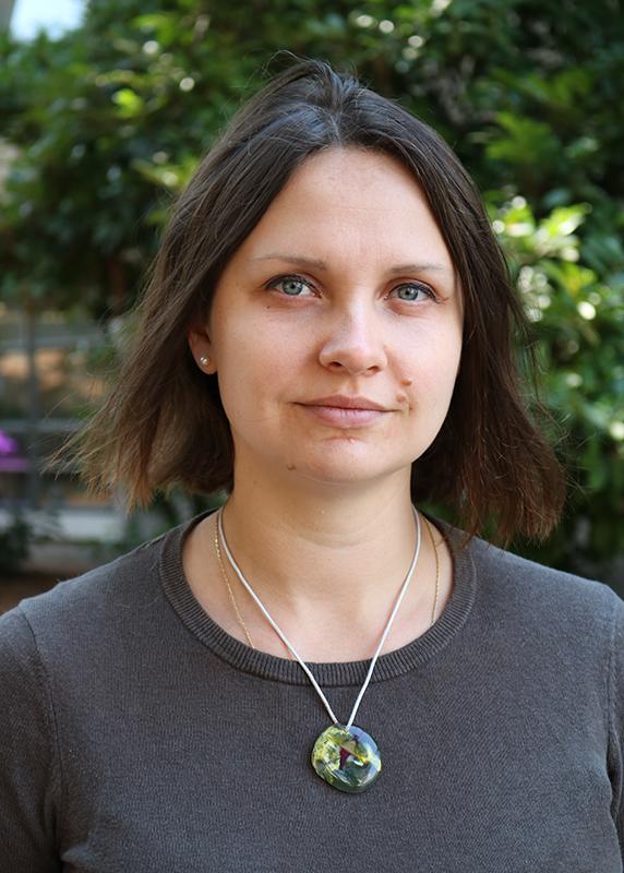 Photo of Ksenia Krasileva.