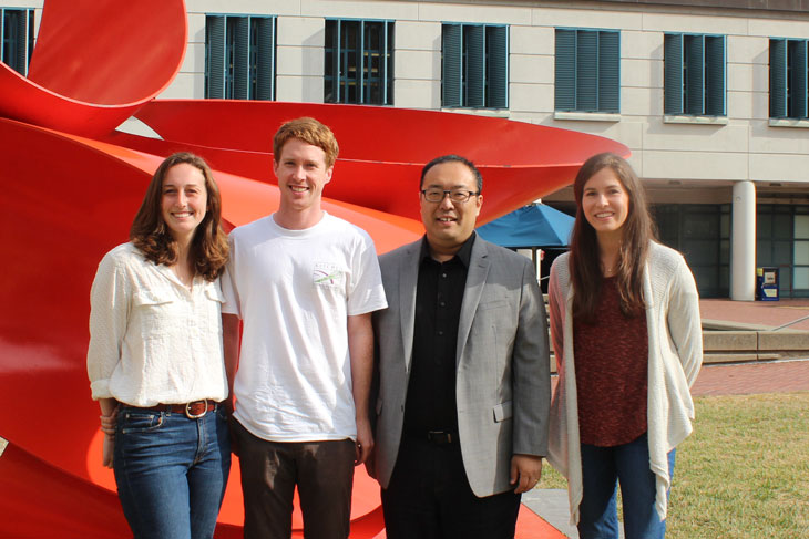 Professor Daniel Nomura co-authored the study with graduate students from his laboratory: Jessica Spradlin, Carl Ward, and Elizabeth Grossman.