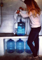 Peters and her water project