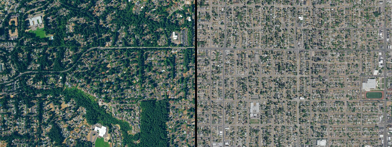 Maps of neighborhoods in Washington