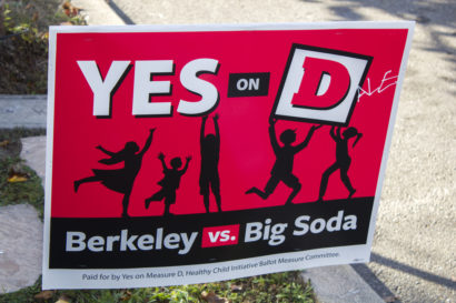 Photo of a campaign sign.