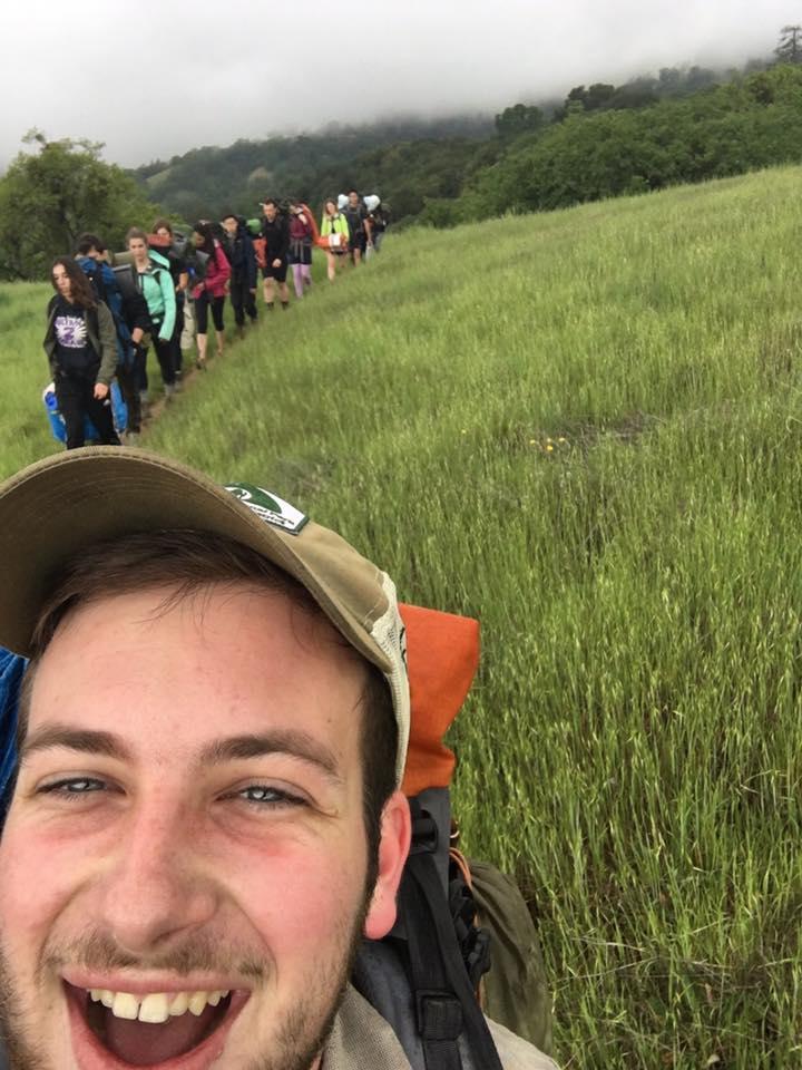 Scott Silva doing a CHAOS hike