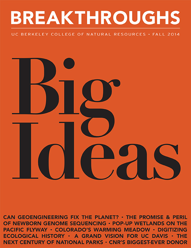 Breakthroughs Magazine Fall 2014: Big Ideas