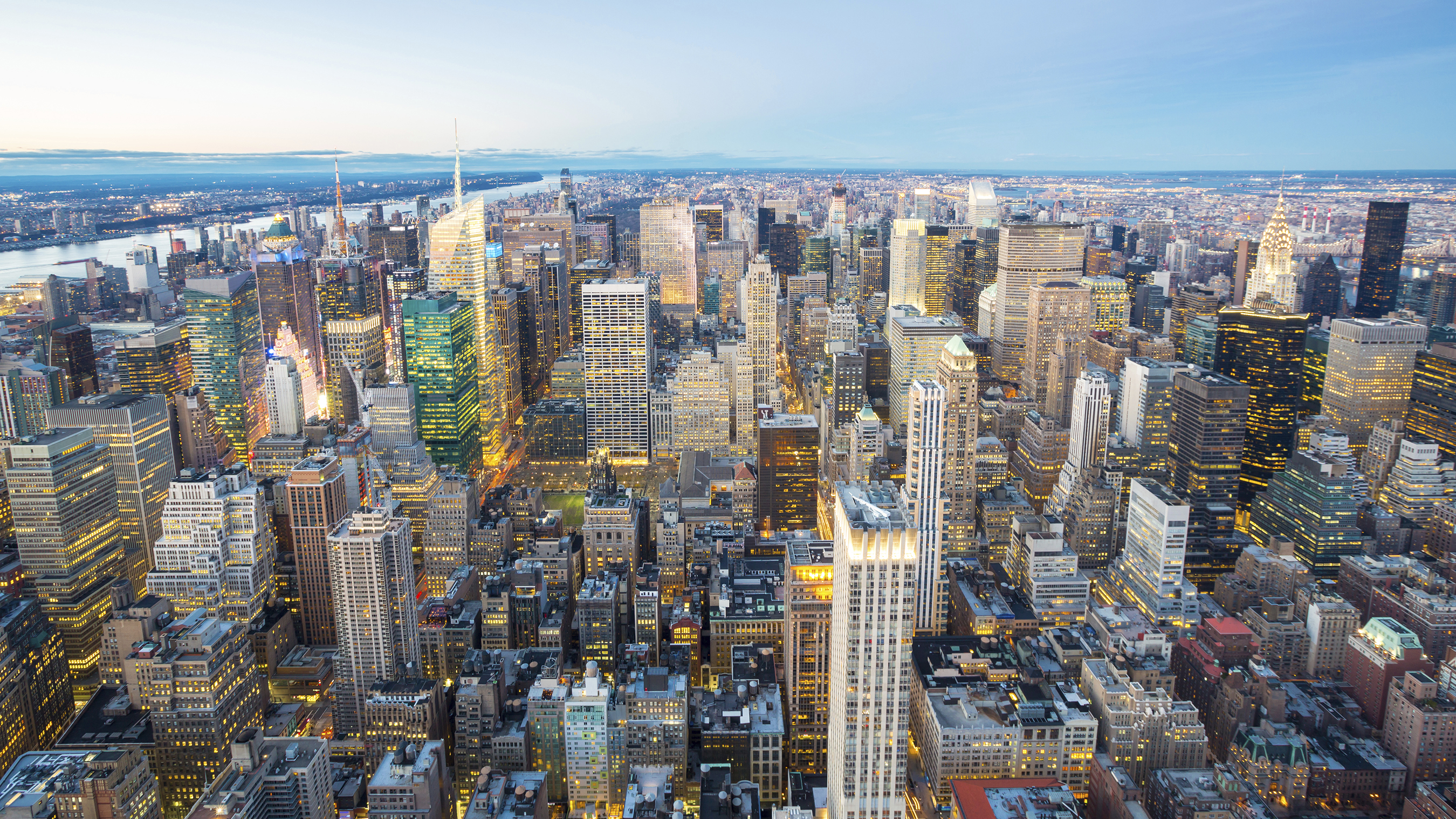 Aerial Image of a City