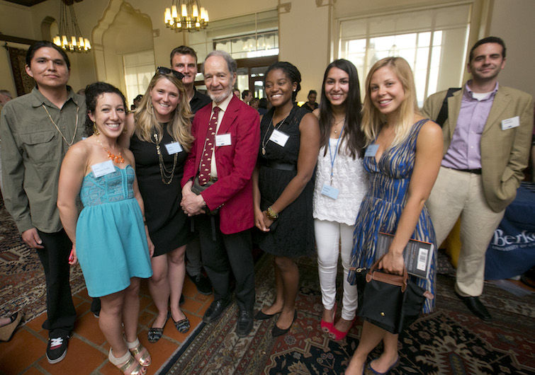 MDP student with author Jared Diamond