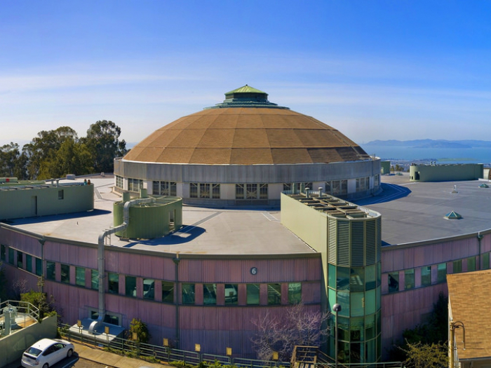 A building at the Lawrence Berkeley National Lab