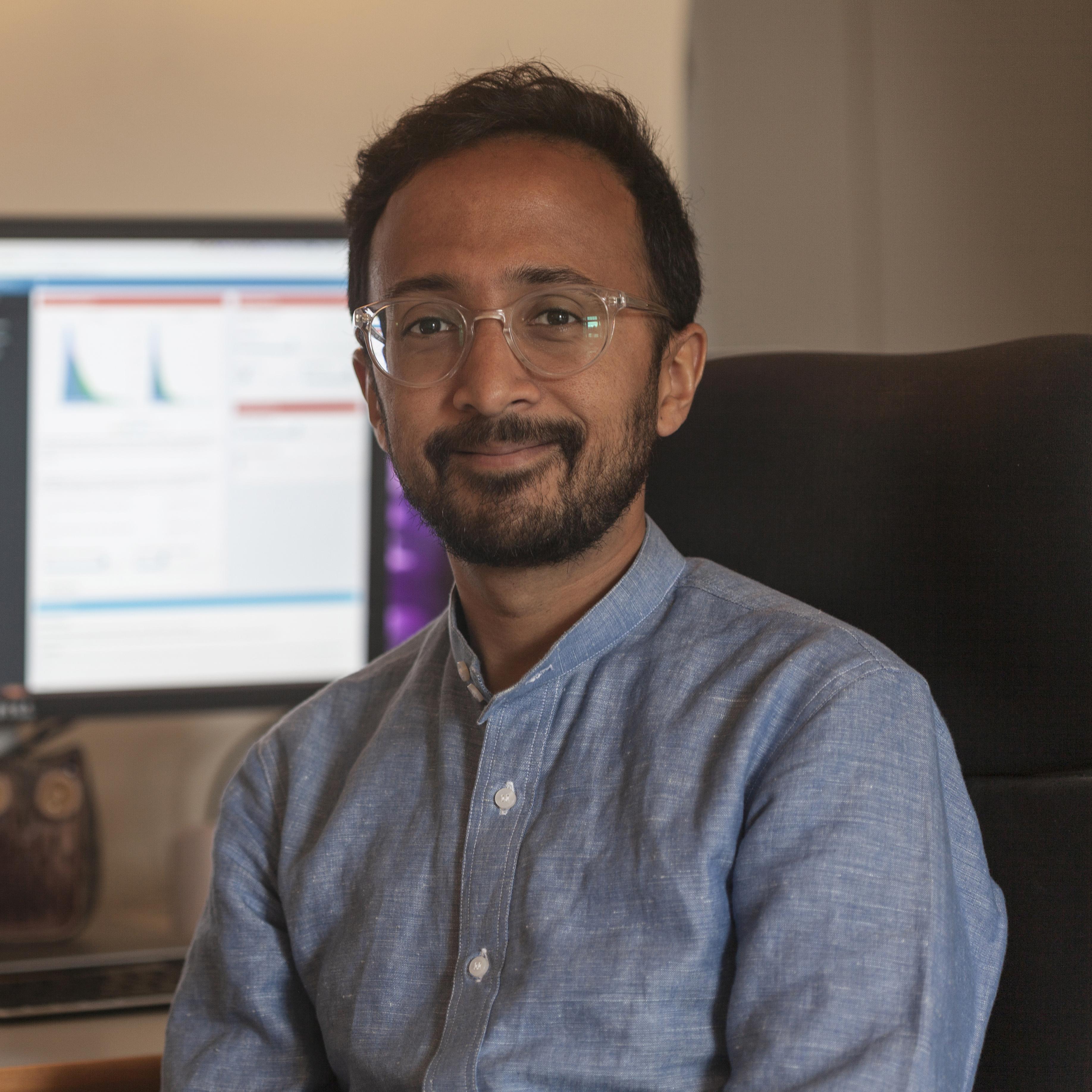 Ajay Pillarisetti headshot