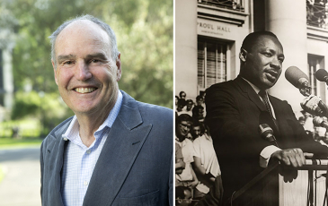 Dick Beahrs and Martin Luther King JR