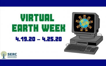 Earth week graphic.