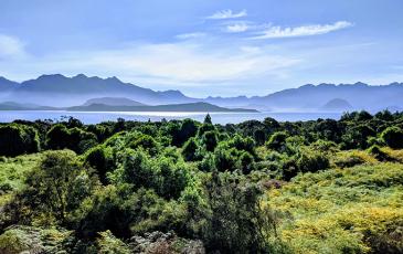 Fjordland National Park in New Zealand