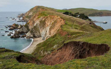A view of Point Reyes National Seashore