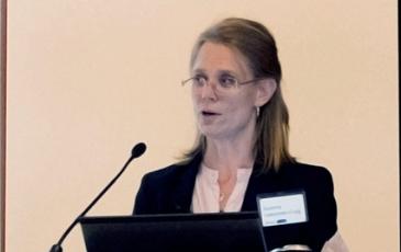 Susanna Laaksonen-Craig at the SJ hall lecture