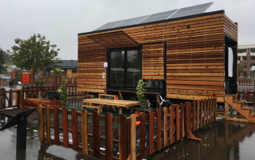 Berkeley's tiny house