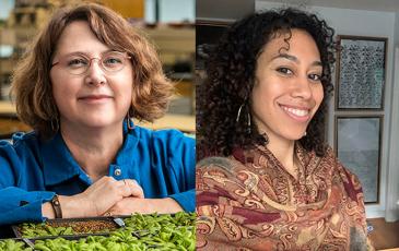 Profiles of Mary Wildermuth and Maryani Rasidjan