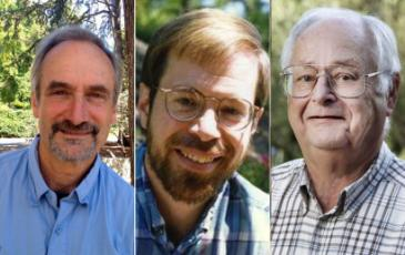 AAAS names three UC Berkeley faculty as fellows. They are (shown l-r) Steven Beissinger, James Demmel and Watson Laetsch.