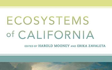 Ecosystems of California book cover