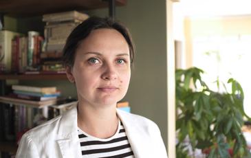 Ksenia Krasileva headshot