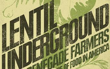 Book cover: Lentil Underground
