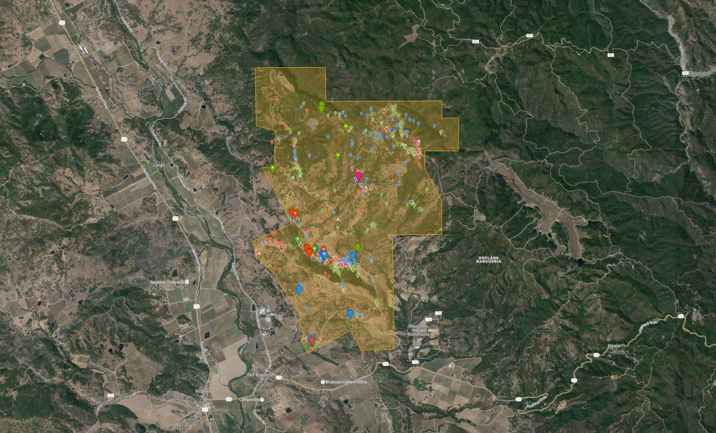hopland-bioblitz-map
